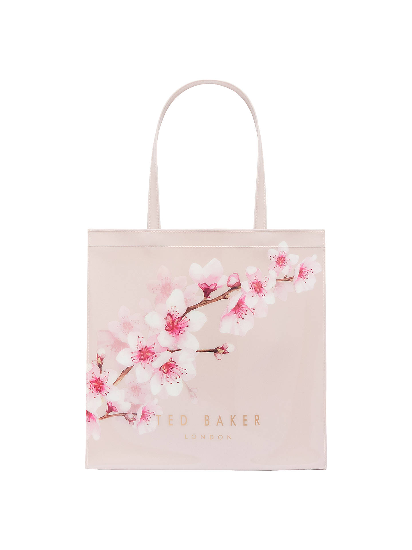 8a83f2730ee Buy Ted Baker Pammcon Soft Blossom Large Icon Shopper Bag, Light Pink  Online at johnlewis ...