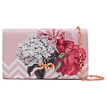 Buy Ted Baker Sophh Palace Gardens Clutch Bag, Dusky Pink Online at johnlewis.com