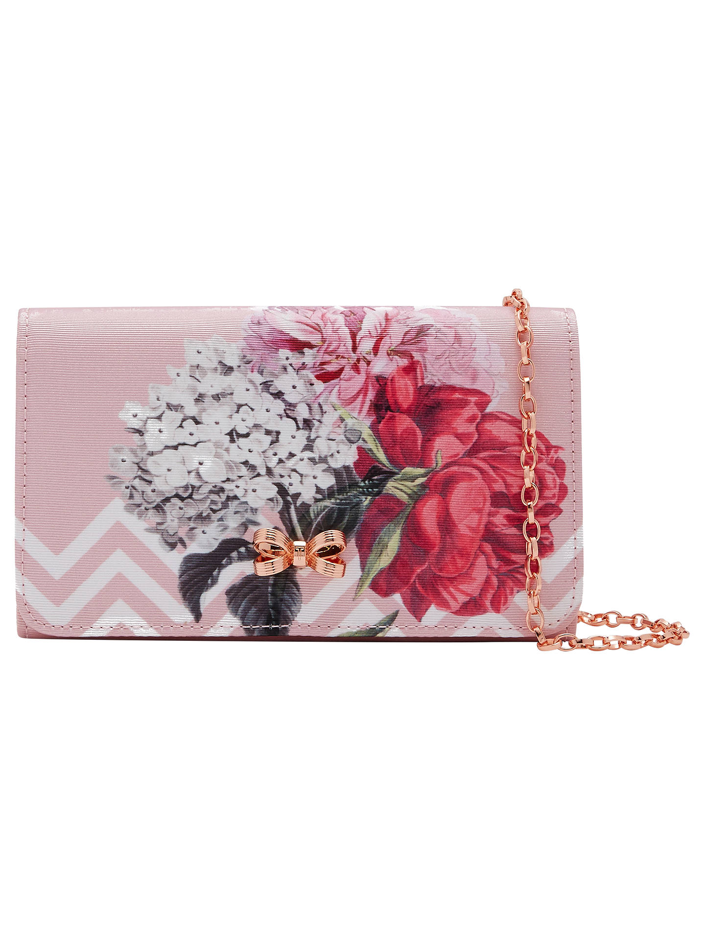 John Ted Bag Baker At Dusky Pink Clutch Palace Sophh Gardens