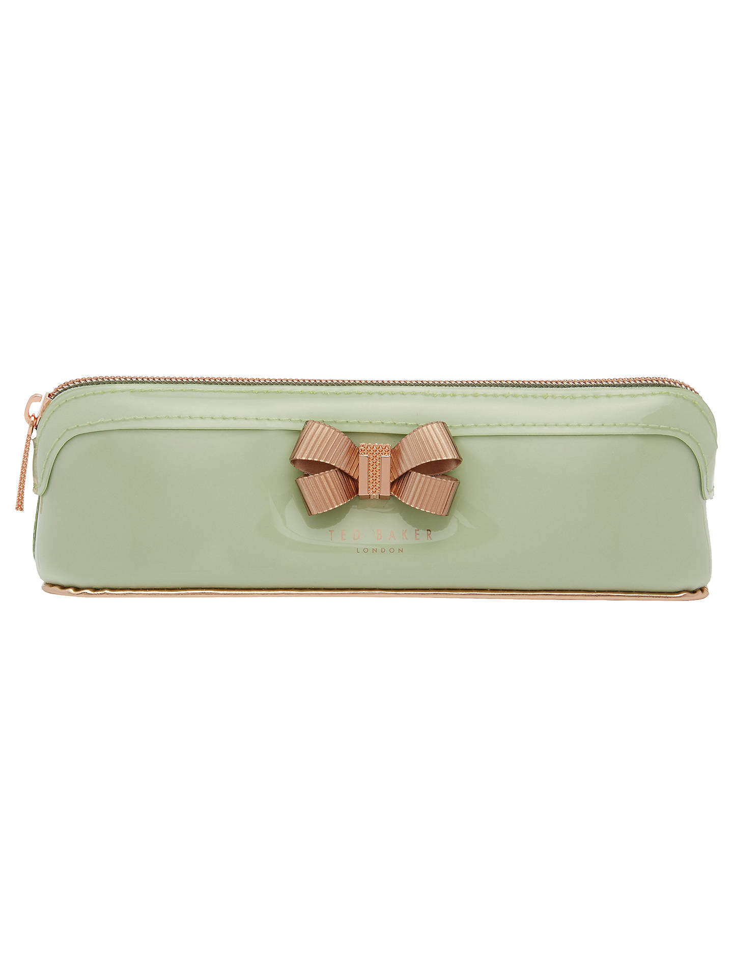 low priced f5116 c875b Ted Baker Lora Bow Pencil Case, Olive