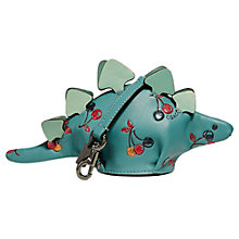 Buy Coach Leather Steggy Dinosaur Coin Case, Marine Online at johnlewis.com