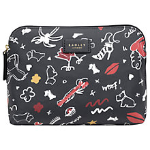 Buy Radley Sugar & Spice Medium Zip-Top Pouch Purse, Ink Online at johnlewis.com