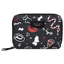Buy Radley Sugar & Spice Medium Bi-Fold Purse, Ink Online at johnlewis.com