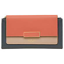 Buy Radley Sunbury Lane Leather Flapover Matinee Purse Online at johnlewis.com