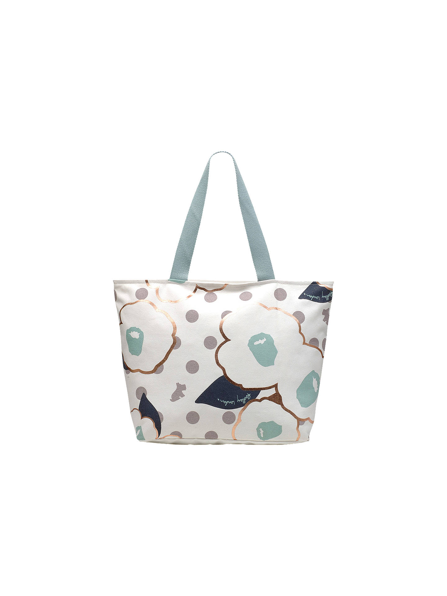 BuyRadley Hollyhock Large Work Tote Bag, Dolphin Online at johnlewis.com