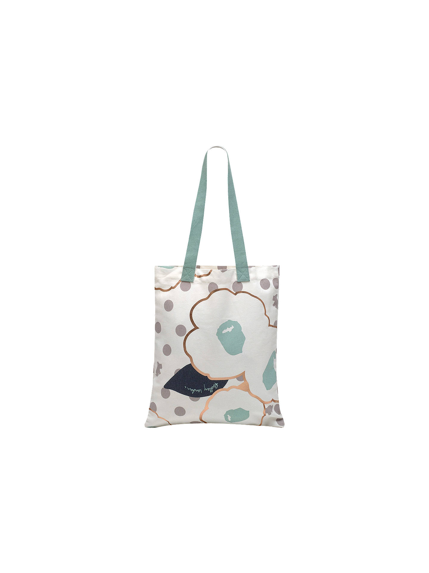 Buy Radley Hollyhock Canvas Medium Tote Bag, Dolphin Online at johnlewis.com