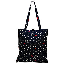 Buy Radley Vintage Dog Dot Foldaway Tote Bag Online at johnlewis.com