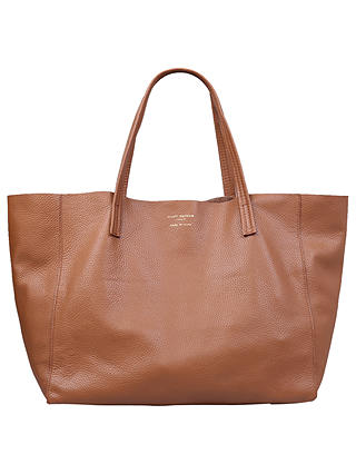Buy Kurt Geiger London Violet Leather Tote Bag, Tan Online at johnlewis.com