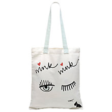Buy Radley Sugar & Spice Cotton Canvas Shopper Bag, Multi Online at johnlewis.com