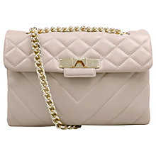 Buy Kurt Geiger Mayfair Leather Cross Body Bag Online at johnlewis.com