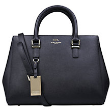 Buy Kurt Geiger New Saffiano Richmond Leather Tote Bag Online at johnlewis.com