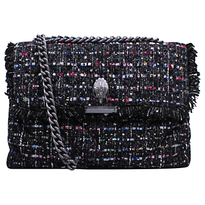 Kurt Geiger Kensington Tweed Large Cross Body Bag