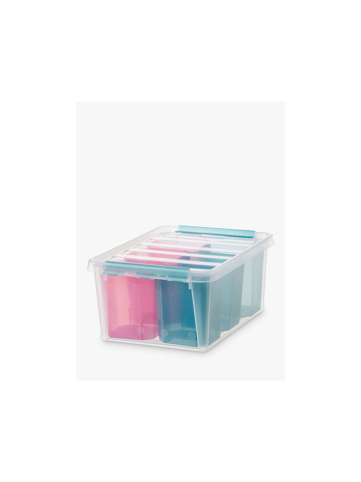 Buy SmartStore by Orthex 15 Plastic Storage Box with 6 Inserts Online at johnlewis.com