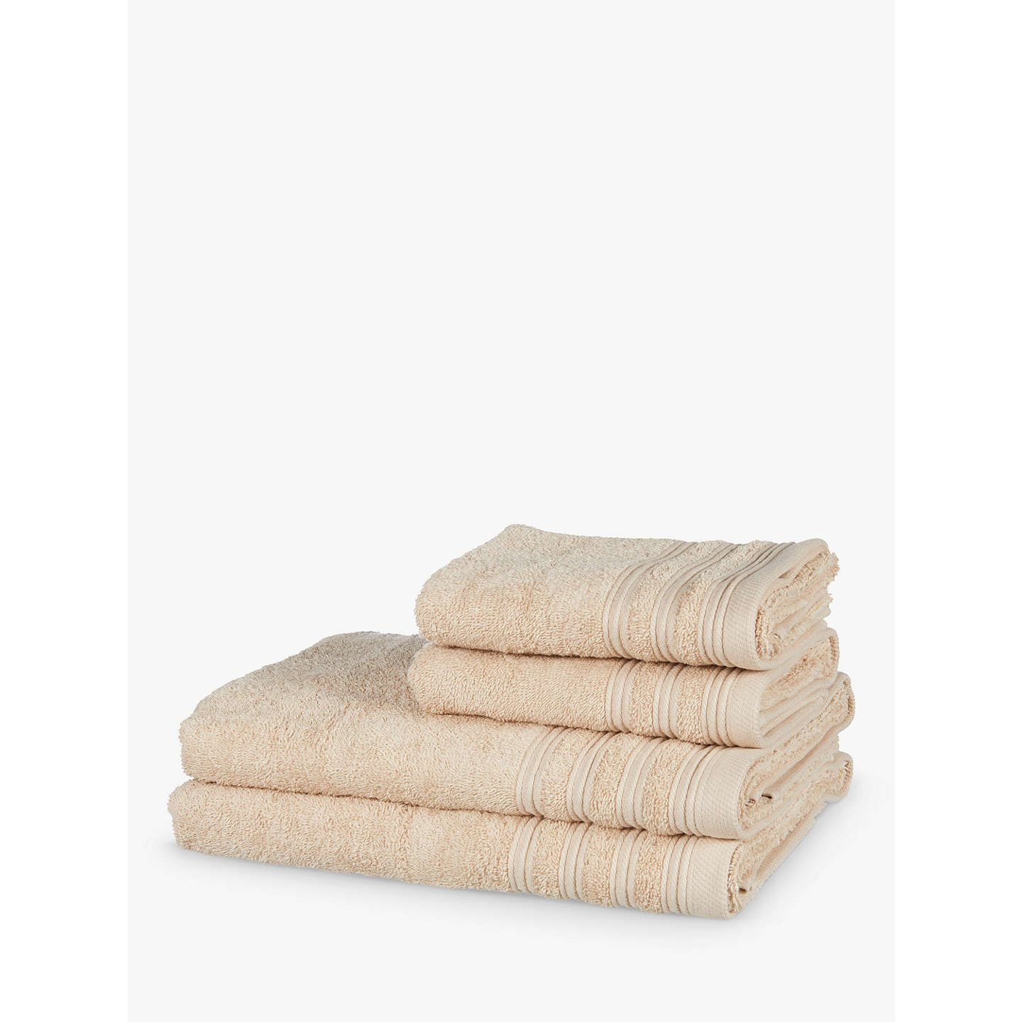 BuyJohn Lewis 4 Piece Towel Bale, Pebble Online at johnlewis.com