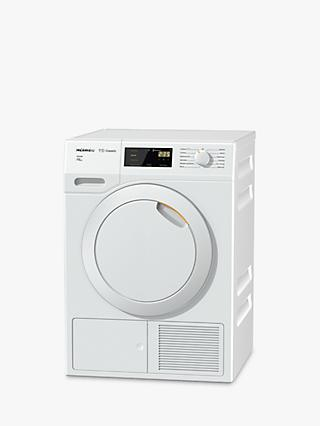 Miele TDB230 Active Heat Pump Tumble Dryer, 7kg Load, A++ Energy Rating, White