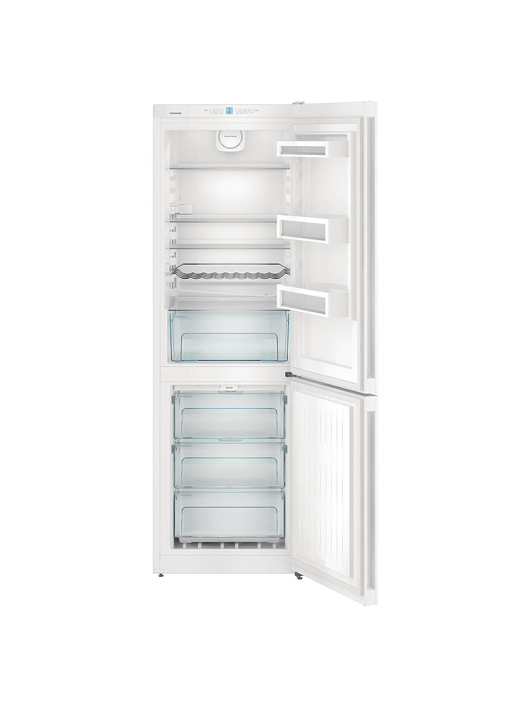 Buy Liebherr CNP4313 Freestanding 60/40 Fridge Freezer, A+++ Energy Rating, 60cm Wide, White Online at johnlewis.com