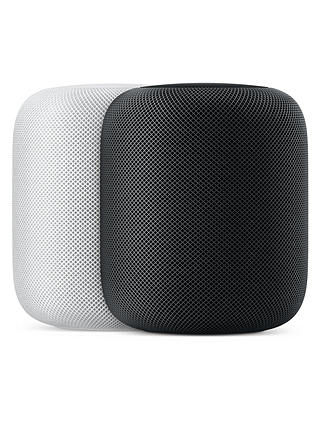 Buy Apple HomePod Smart Speaker, White Online at johnlewis.com