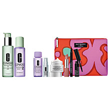 Buy Clinique Clarifying Lotion 2 and Liquid Facial Soap, Mild with Gift Online at johnlewis.com