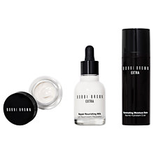 Buy Bobbi Brown Nourish & Glow Extra Skincare Set Online at johnlewis.com