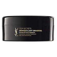 Buy Yves Saint Laurent Top Secrets Universal Makeup Remover Melting Balm-In-Oil, 125ml Online at johnlewis.com