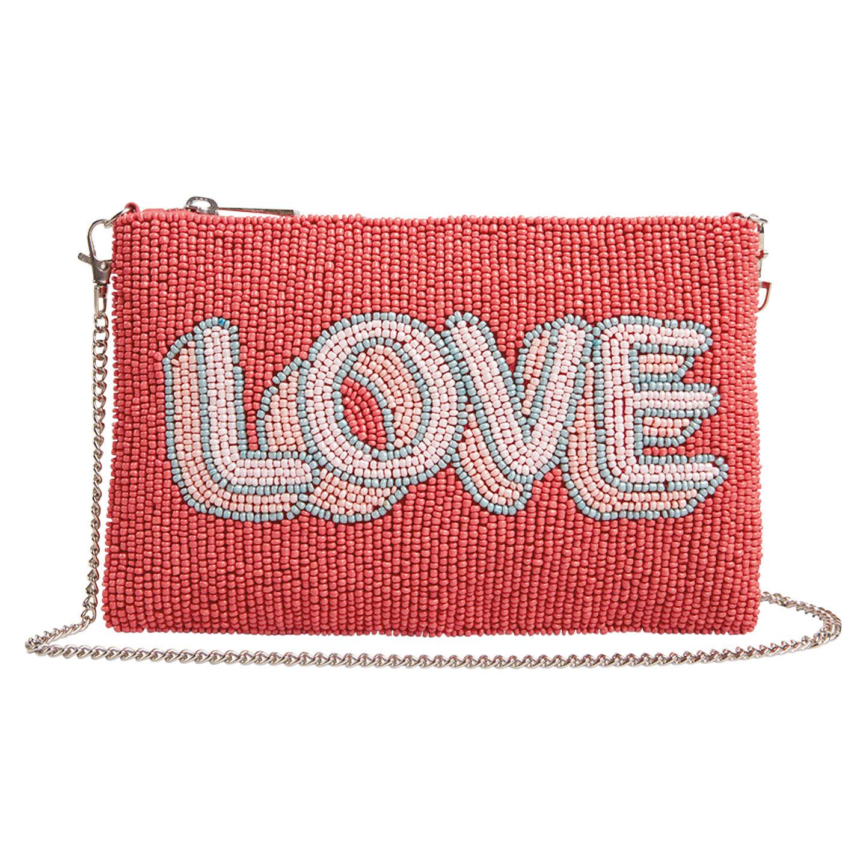 Hush Love Beaded Clutch Bag Multi Online At Johnlewis