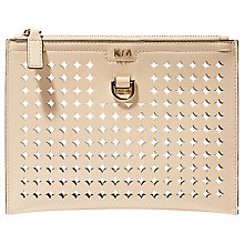 Buy Karen Millen Perforated Pochette Online at johnlewis.com