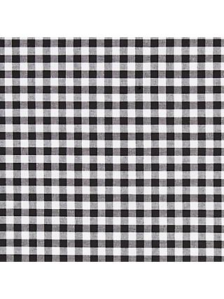 John Louden Large Gingham Check Fabric