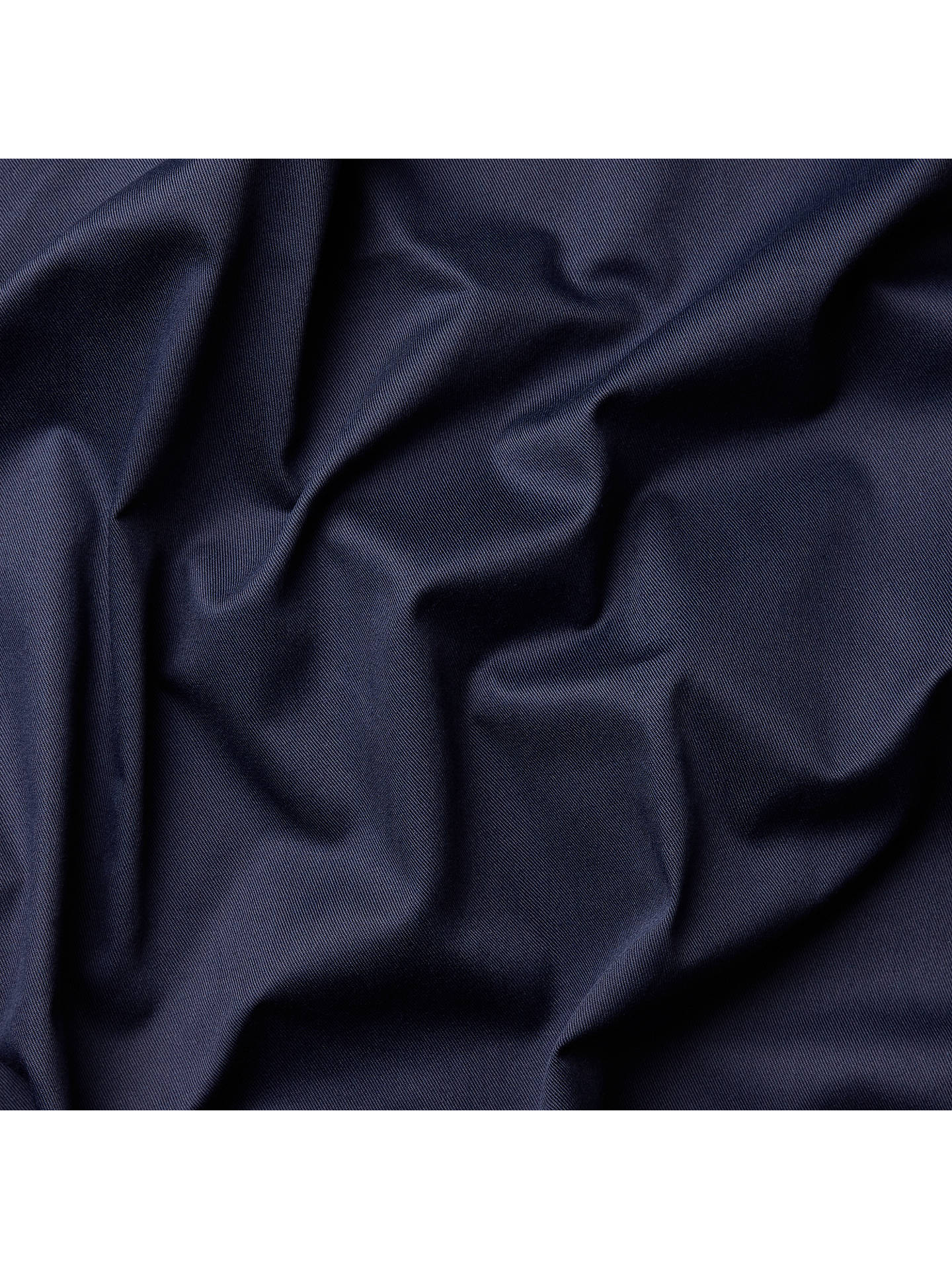 Buy Oddies Textiles Gaberchino Fabric, Navy Online at johnlewis.com