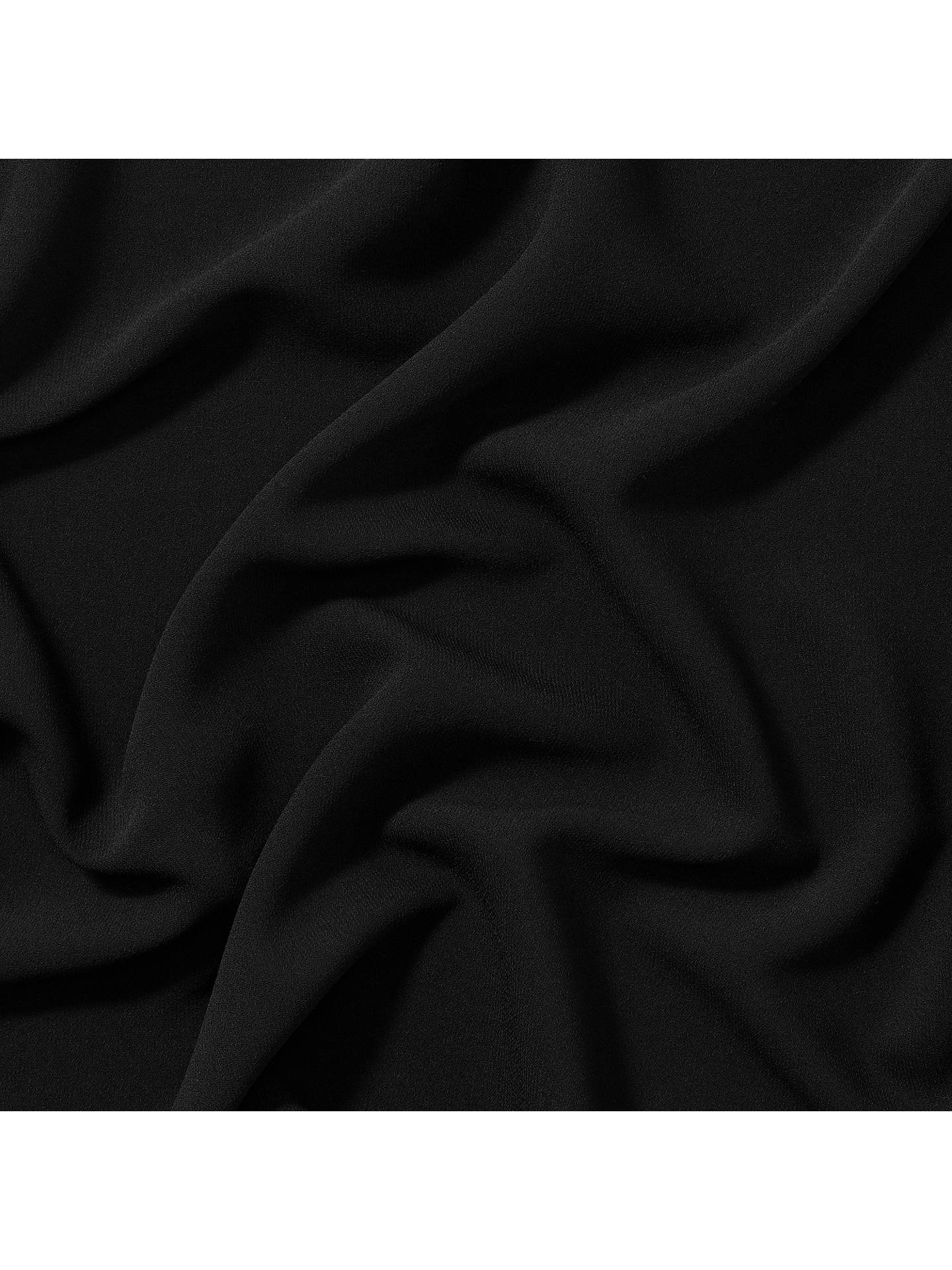 Buy Carrington Fabrics Prestige Crepe Fabric, Black Online at johnlewis.com