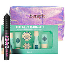 Buy Benefit BADGal BANG! Mascara and 'Totally B.Right!' Skincare Set with Gift Online at johnlewis.com
