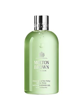 Molton Brown Dewy Lily of the Valley And Star Anise Shower Gel, 300ml