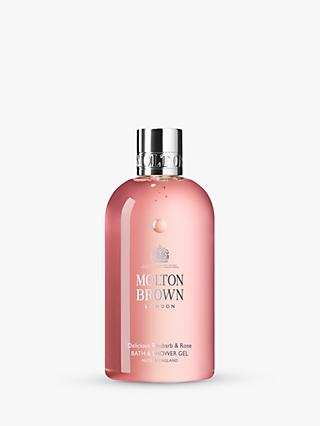 Molton Brown Delicious Rhubarb & Rose Shower Gel, 300ml