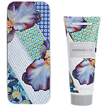 Buy Heathcote & Ivory Vintage & Co. Braids & Blooms Hand Cream In Tin Online at johnlewis.com