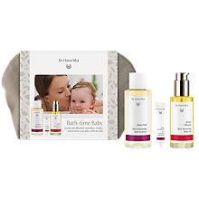 Buy Dr Hauschka Bath Time Baby Gift Set Online at johnlewis.com