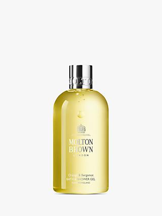 Molton Brown Orange & Bergamot Bath & Shower Gel, 300ml