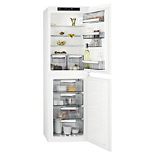 Buy AEG SCE81812NS Integrated Fridge Freezer, A+ Energy Rating, 54cm Wide, White Online at johnlewis.com