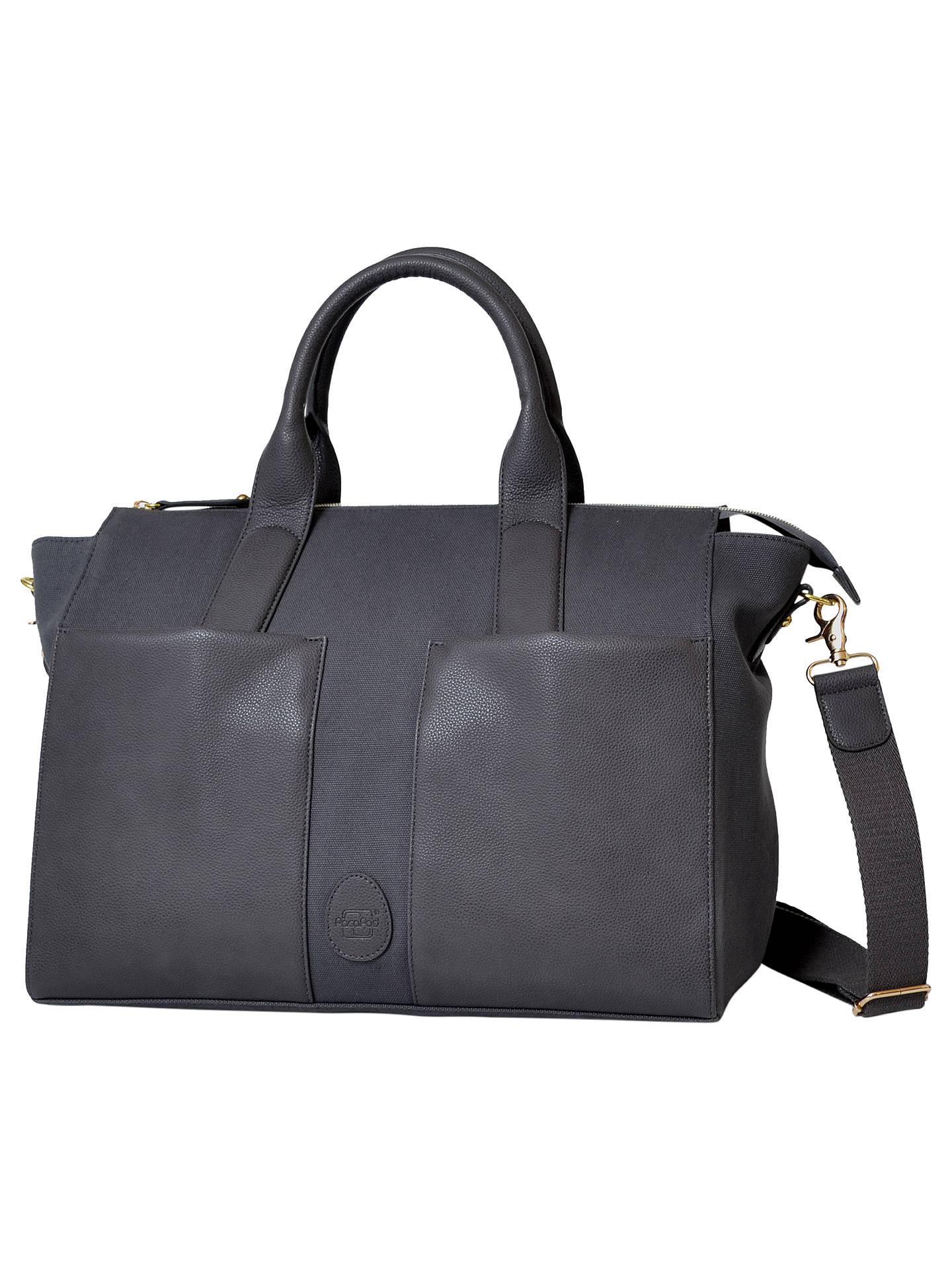 Pacapod Croyde Changing Bag Pewter Online At Johnlewis