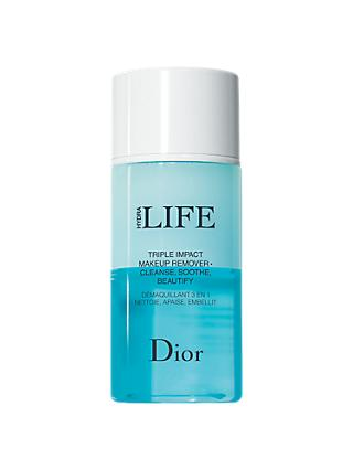Dior Hydra Life Triple Action Makeup Remover - Cleanse, Soothe, Beautify, 125ml
