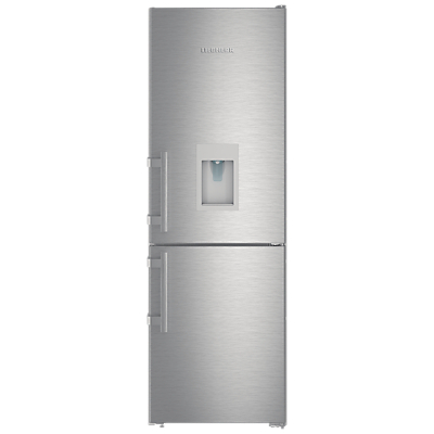 Liebherr CNEF3535 Freestanding Fridge Freezer, A++ Energy Rating, 60cm Wide, Stainless Steel