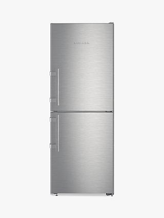 Liebherr CNEF3115 Freestanding 50/50 Fridge Freezer, A++ Energy Rating, 60cm Wide, Silver