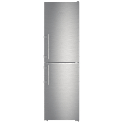 Liebherr CNEF3915 Freestanding Fridge Freezer, A++ Energy Rating, 60cm Wide, Silver