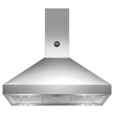 Bertazzoni Master Series K90-AM-HX-A 90cm Chimney Cooker Hood, Stainless Steel