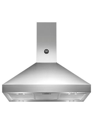 Bertazzoni Master Series K90-AM-HX-A 90cm Chimney Cooker Hood, Stainless Steel