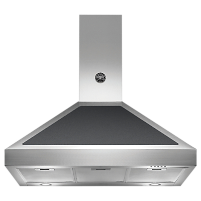 Bertazzoni Master Series Chimney Cooker Hood, Black