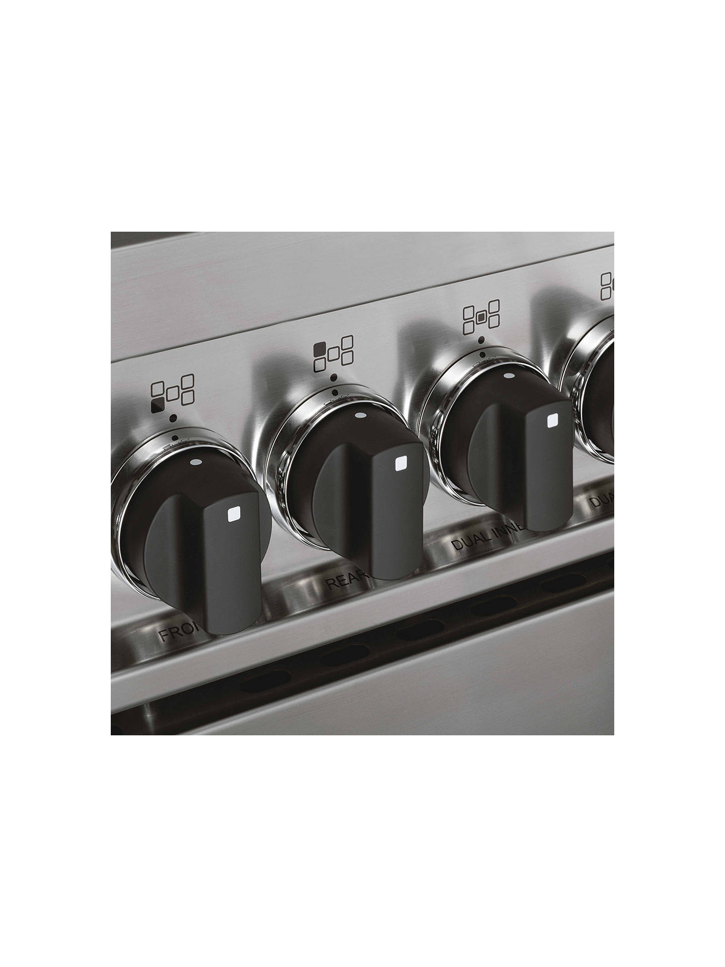 BuyBertazzoni Master Series 100cm Induction Range Cooker, Cream Online at johnlewis.com