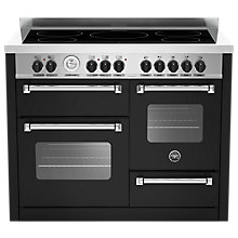 Buy Bertazzoni Master Series 110cm Induction Range Cooker Online at johnlewis.com