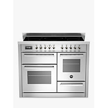 Buy Bertazzoni Professional Series 110cm Induction Range Cooker Online at johnlewis.com