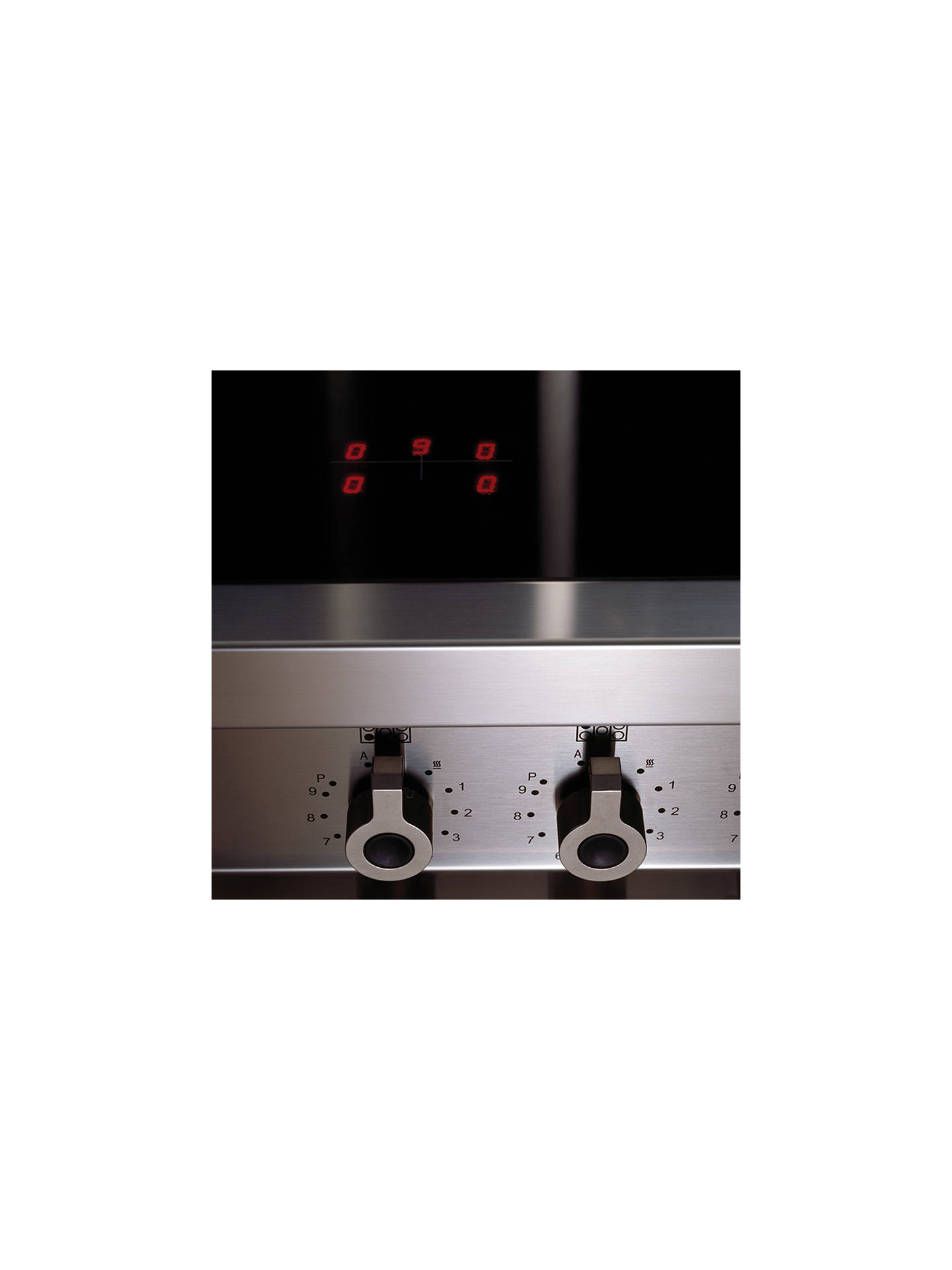 Buy Bertazzoni Professional Series 110cm Induction Range Cooker, Stainless Steel Online at johnlewis.com