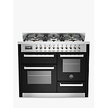 Buy Bertazzoni Professional Series 110cm Dual Fuel Range Cooker Online at johnlewis.com