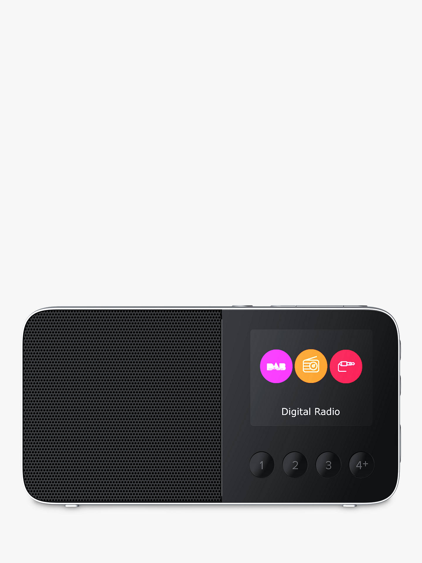 BuyPure Move T4 DAB/DAB+/FM Bluetooth Personal Stereo Radio, Black Online at johnlewis.com